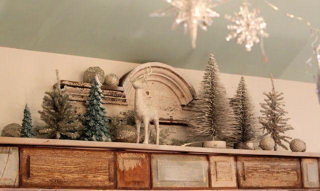 52 Flea Taken For Granite Christmas 2012 Christmas Bookshelf Christmas Kitchen Decor Christmas Decorations