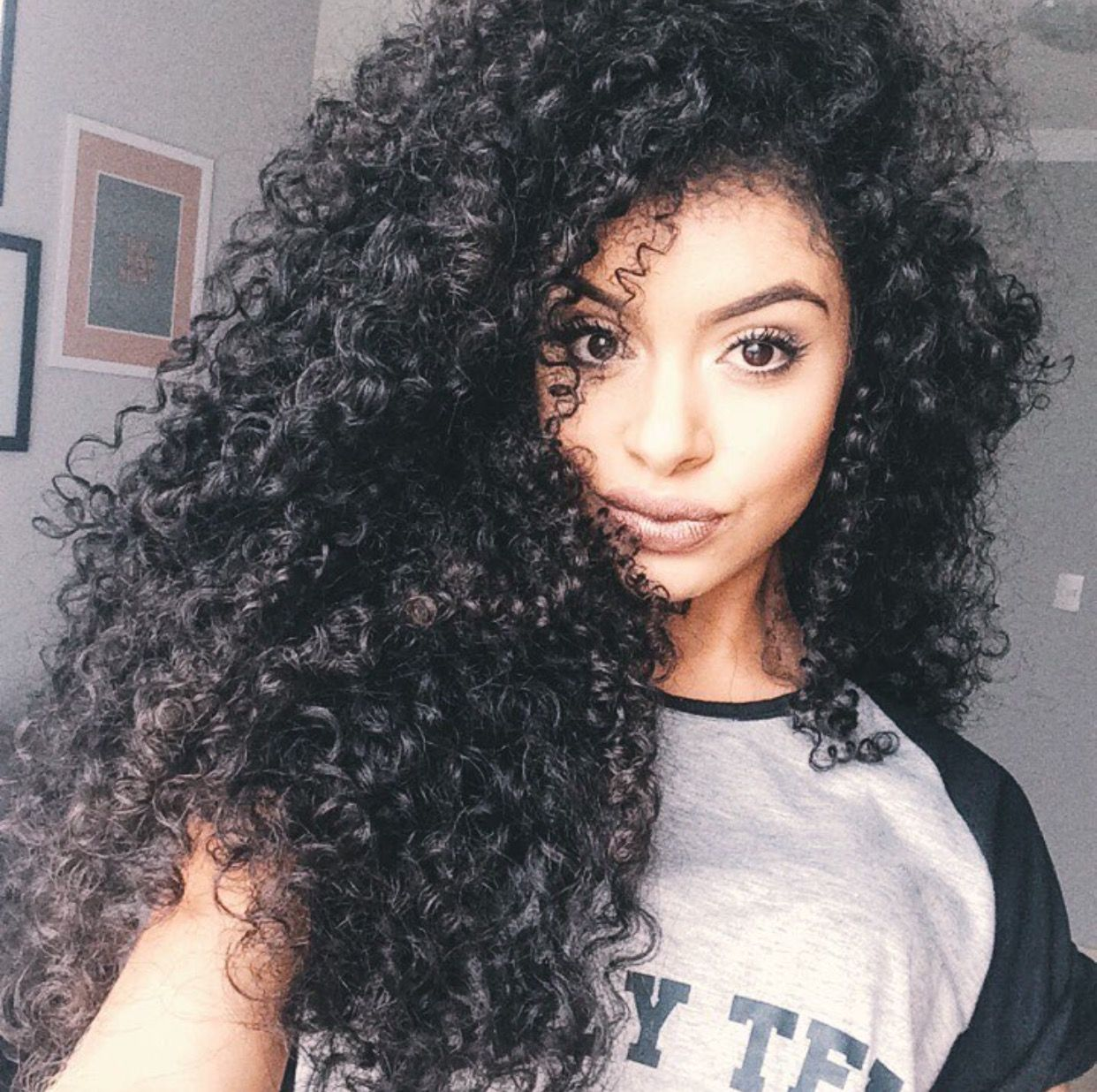 Pinterestbellaxlopesiginstalopesb hair pinterest curly