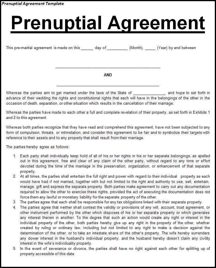 This Agreement Is Recommended For Any Couple Entering Into A