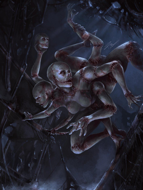 """beyondtheconfinesofsanity: """" Spider Mannekin by rey7eighties """""""