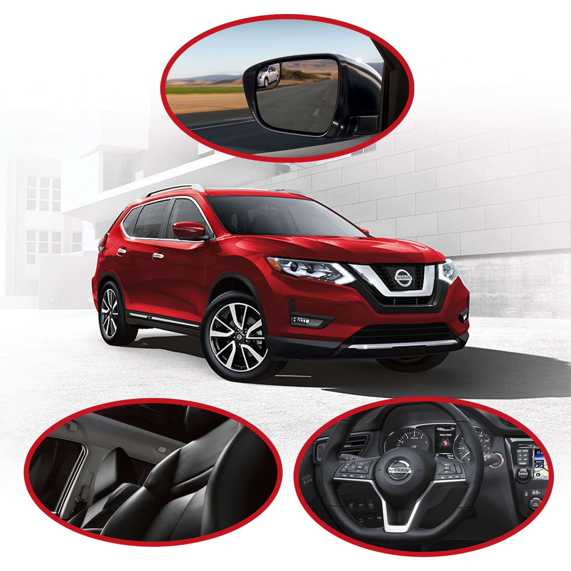 Which available 2017 Nissan Rogue features will you be