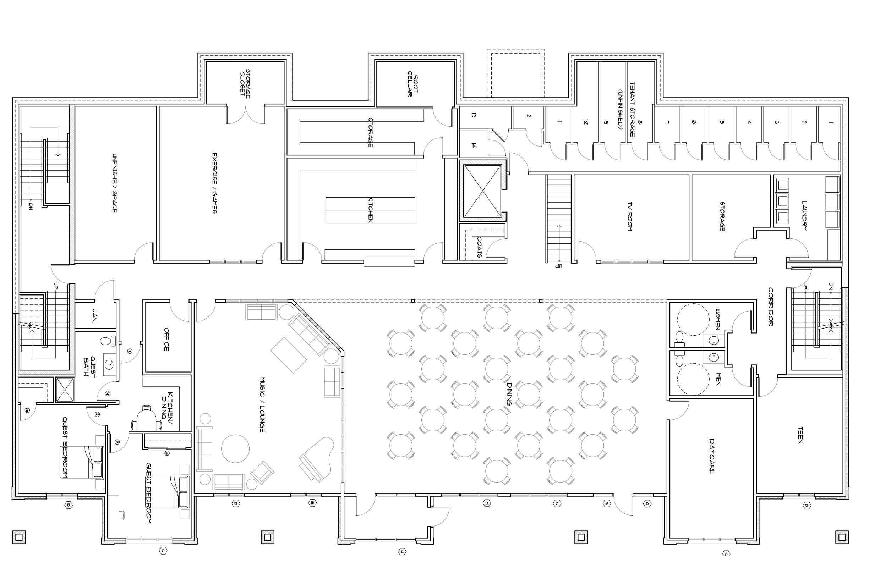Common House Floor