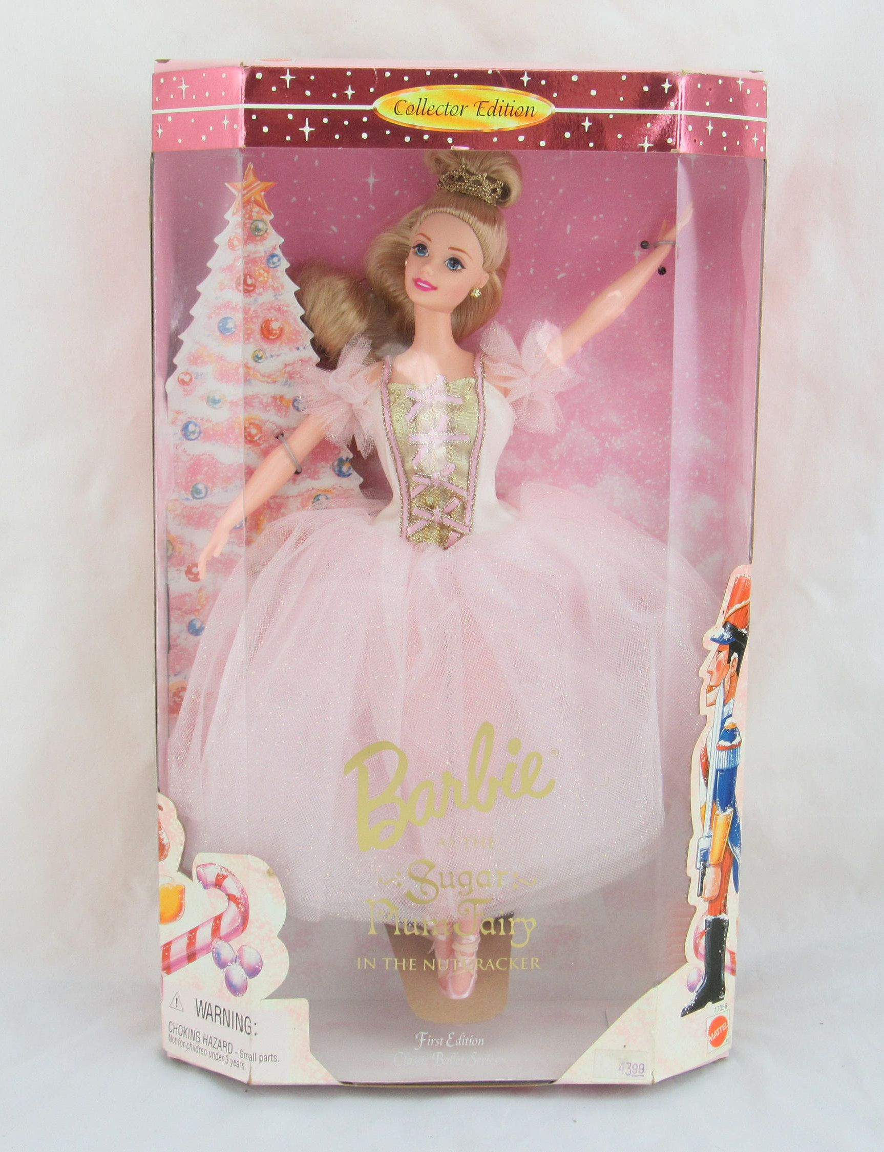 Barbie as the Sugar Plum Fairy in the Nutcracker Classic Ballet