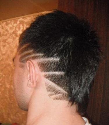 узоры на голове мужские фото