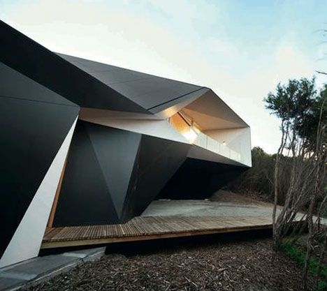Origami-Inspired Architecture: 14 Geometric Structures ...