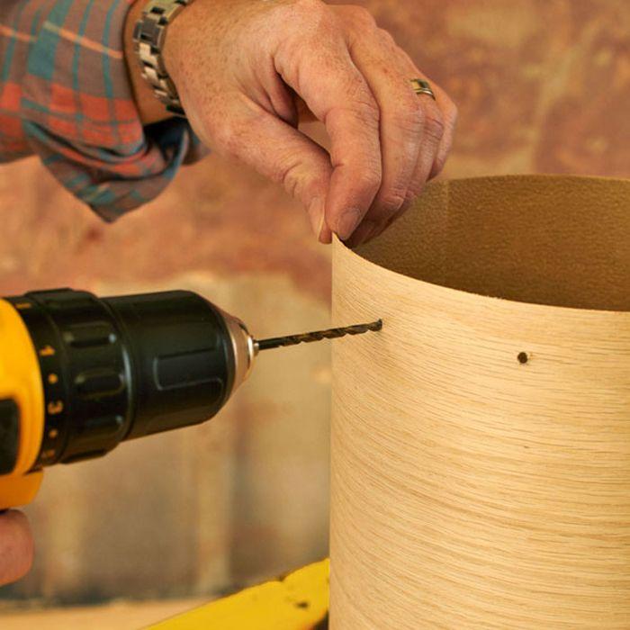 Wood veneer pendant light diy apartment life pinterest wood wood veneer pendant light diy mozeypictures Images