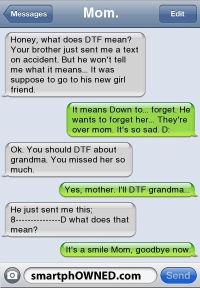Moms... and the kids who humor them.  Perfect.