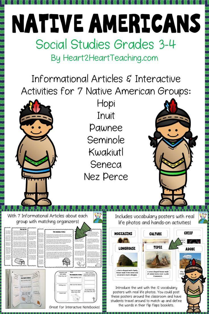 Native Americans: Hopi, Inuit, Seminole, Kwakiutl, Nez ...