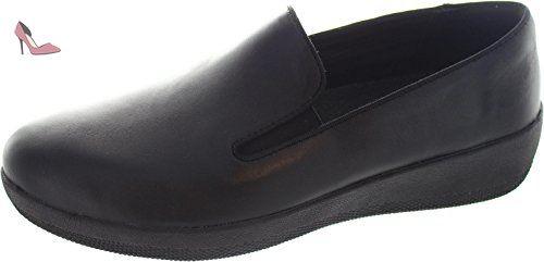 Chaussures De Sport Sportif-pop Noirs FitFlop UK7 Noir tipASJWDmZ
