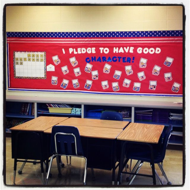 Patriotic Theme Bulletin Board Patriotic Classroom Theme
