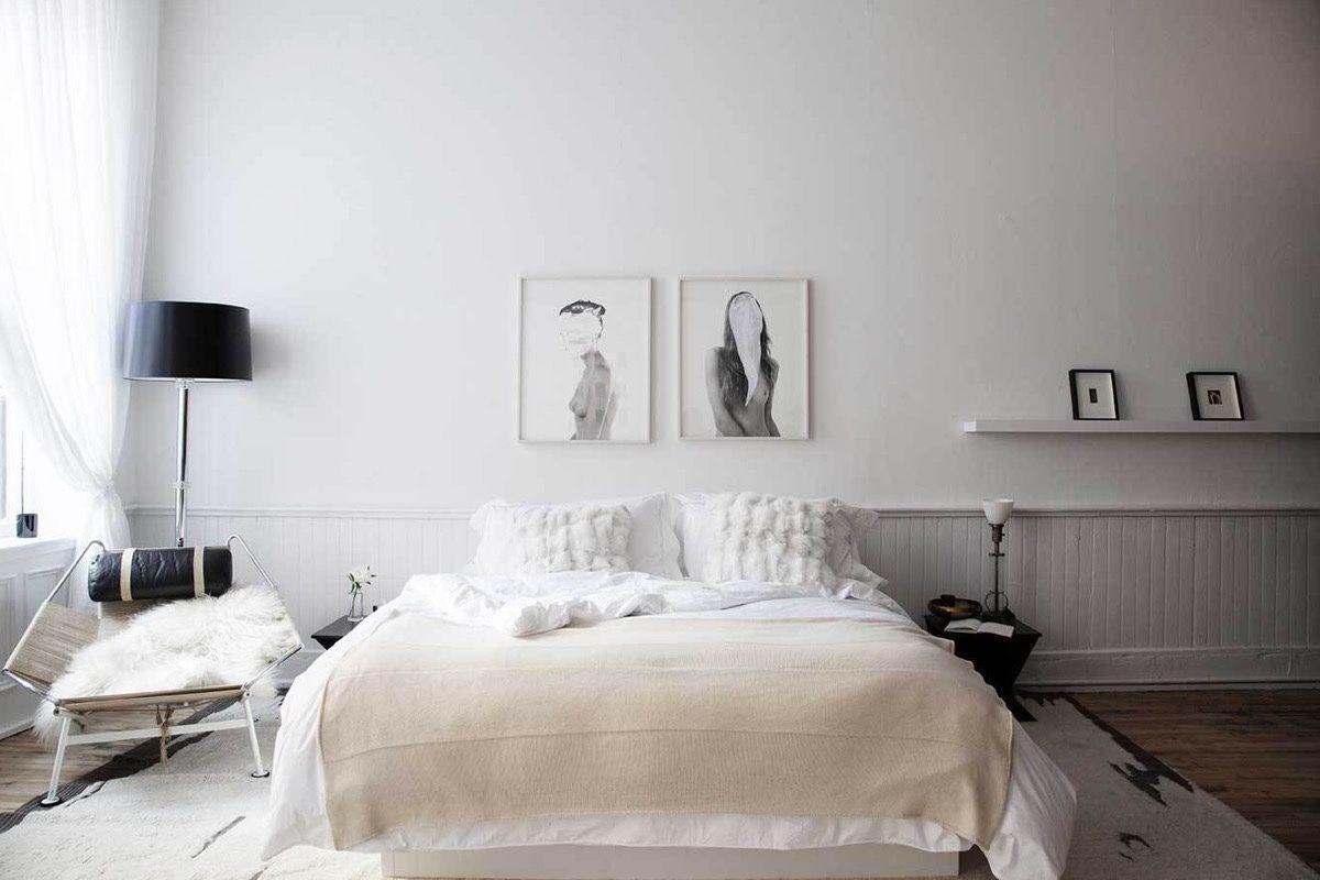 Schon Skandinavisches Schlafzimmer Ideen Weiß Schlafzimmer Design