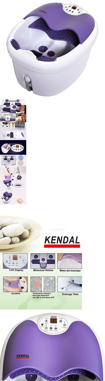 Massagers: Digital Foot Spa Bath Massager Motorized Rolling Heat ...