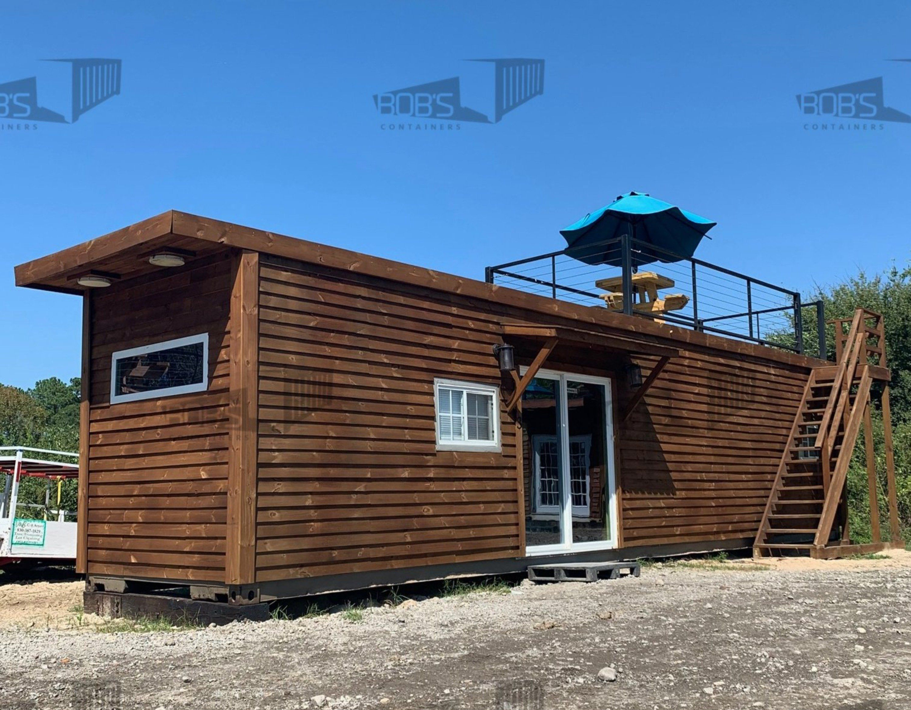 Photo of 40 ft Container Home – The Dogwood Model – Basic (No Rooftop)