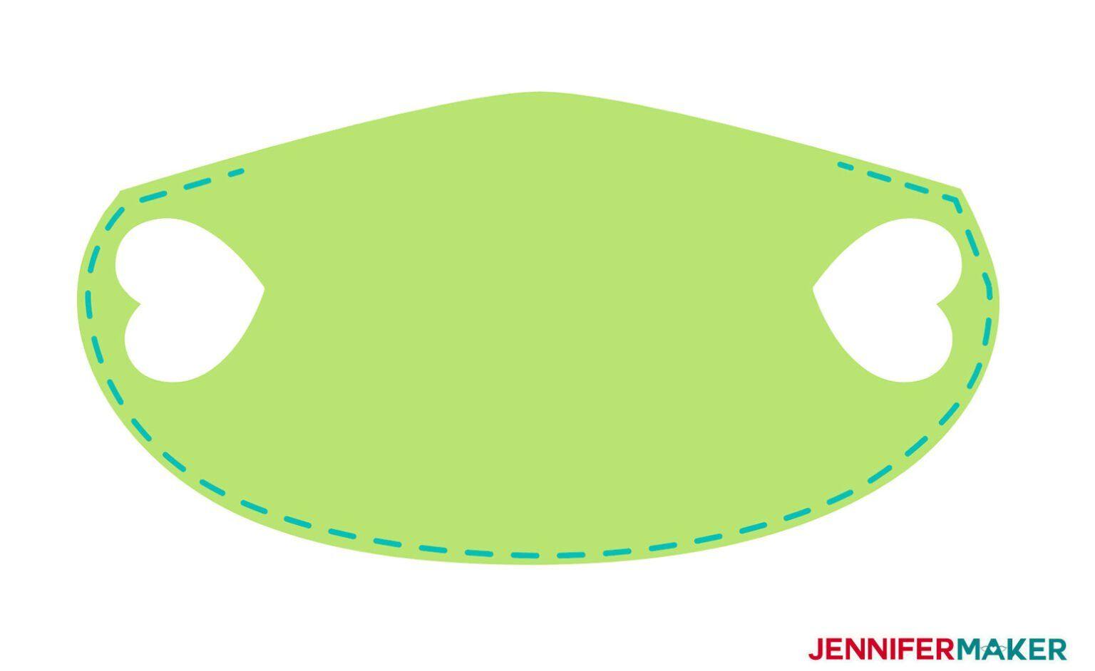 Make a No-Sew Face Mask From a T-Shirt! - Jennifer Maker