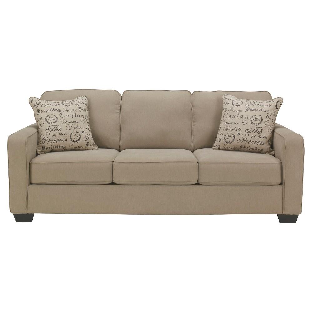 Alenya Queen Sofa Sleeper Quartz Signature Design By Ashley Green