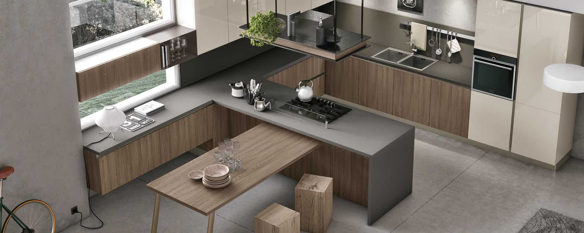 cucine moderne stosa - modello cucina infinity 05 | Cucina ...