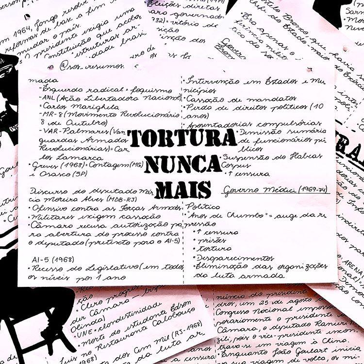 Arizinha No Instagram Resumo Do Periodo Da Ditadura Militar No Brasil Demorei Mas Postei Kkkk Voces Querem Resumo Resumos Enem Ditadura Militar
