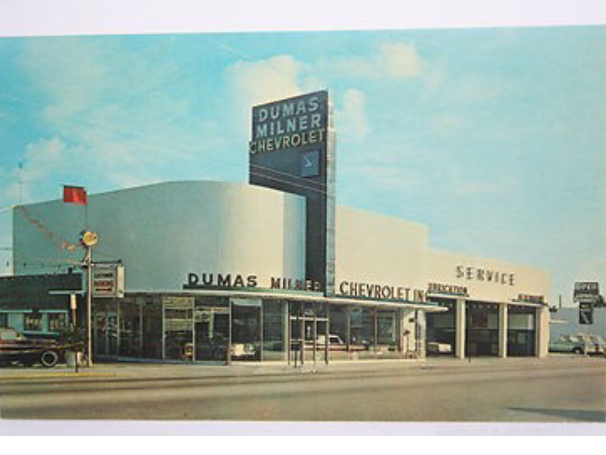 1964 Dumas Milner Chevrolet Dealership Miami Florida Chevrolet Dealership Chevrolet Dealership