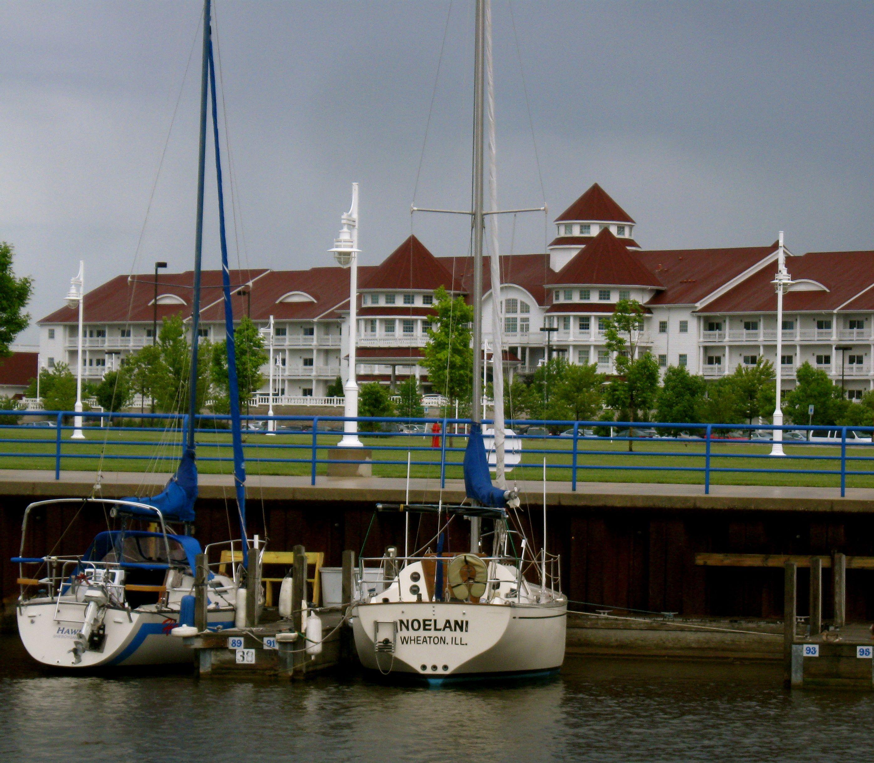 Places To Visit On Lake Michigan In Wisconsin: Blue Harbor Resort, Sheboygan, Wi.