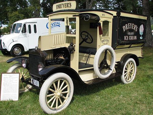 1920 Ford Model T Ton Dreyers 1 Delivery Truck Ford Models Model T Dreyers