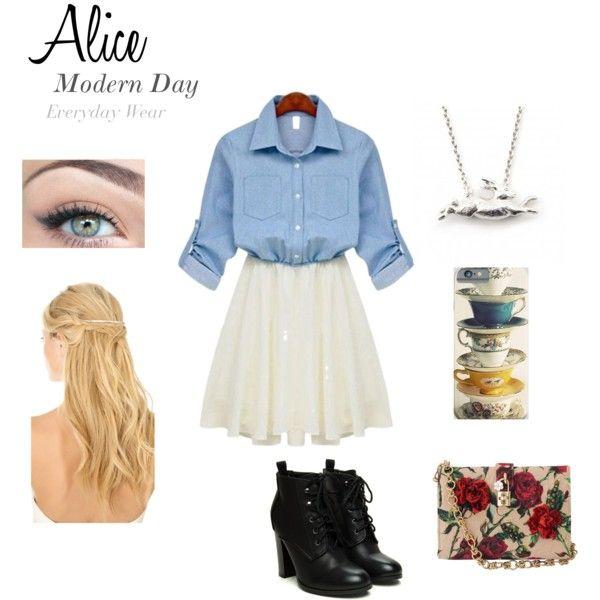 Alice In Wonderland Modern Everyday Wear Alice In Wonderland
