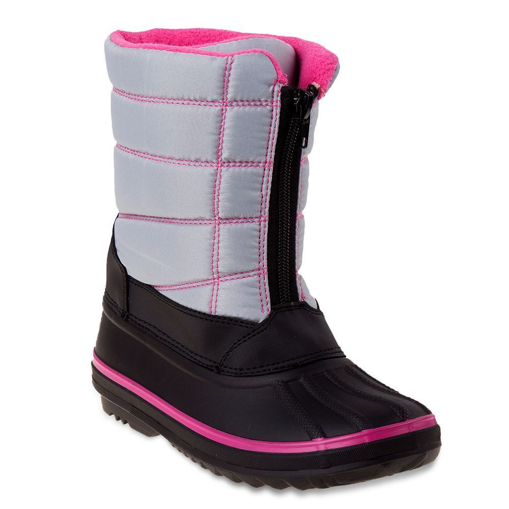 Rugged Bear Girls' Water-Resistant Snow