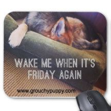 Funny Dog Mousepad. Portion of proceeds benefits local nonprofits #Muttville #SFSPCA