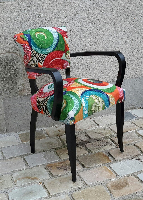 fauteuil bridge des ann es 50 restaur l 39 ancienne meubles et rangements par bridgendco. Black Bedroom Furniture Sets. Home Design Ideas