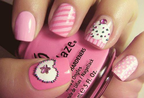 cupcake nails | #nails