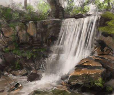 i love just about any waterfall painting and have wanted one for a long time.