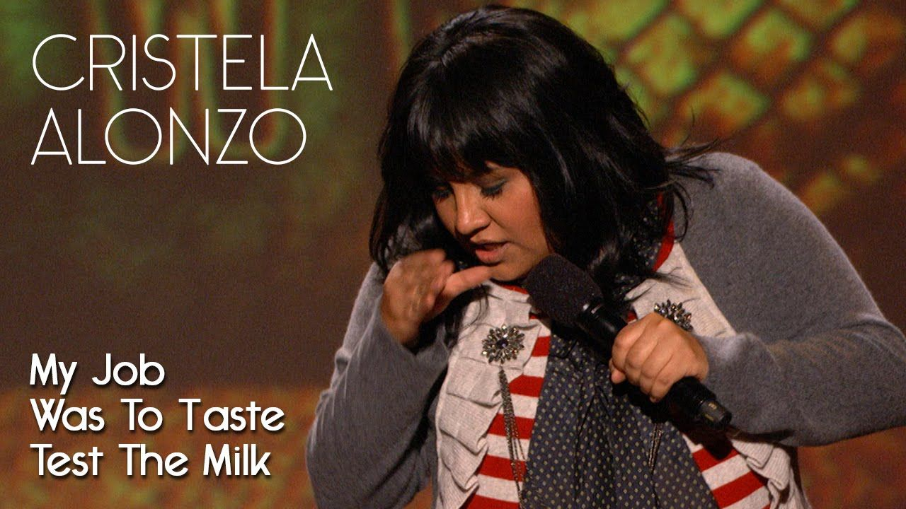 As The Youngest Of 4 My Job Was To Taste Test The Milk - Cristela Alonzo