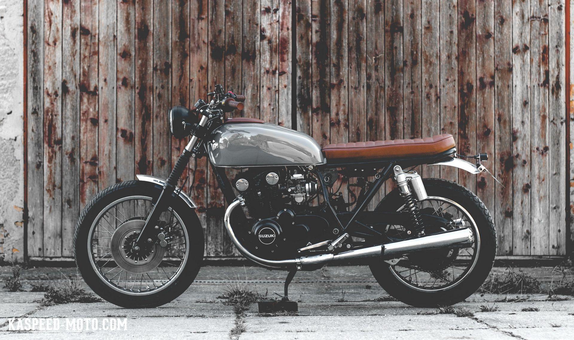 Suzuki Gs 550 Brat Custom Cafe Racer Motorcycle Motorrad Bike Brat Motorcycle Brat Bike Brat Style [ 1139 x 1920 Pixel ]