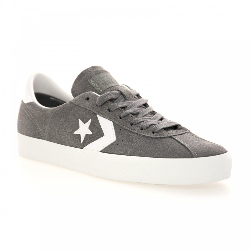 6903667e0673 CONVERSE Converse Cons Men s Break Point Suede Trainer (Mason White) -  CONVERSE from Loofes UK