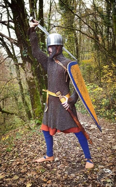 Normannen Wikinger Helm Ritter Mittelalter Larp Rüstung Rollenspiel Kostüm helm