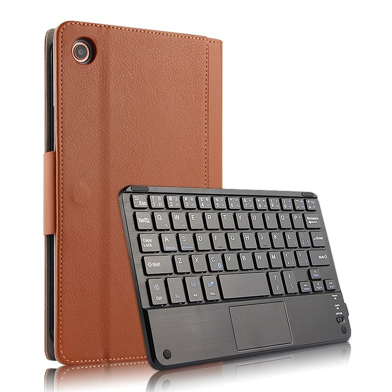 Russian Hebrew Spanish Detachable Wireless Bluetooth Keyboard Stand Leather Funda Case For Xiaomi Mipad 4 Plus Mi Pad4 Plus 10 1 Review Bluetooth Keyboard Keyboard Protector Keyboard