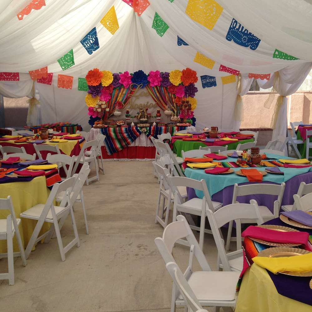 Mexican wedding decoration ideas  Fiesta  Mexican BridalWedding Shower Party Ideas  Pinterest