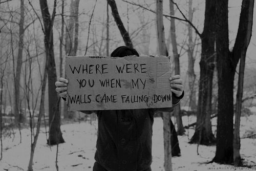 Black and white tumblr photography quotes snow photography black and white depressed depression sad quotes trees