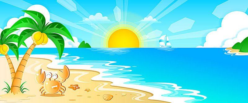 Cute Sea Turtle On Sand Hd Graphic Wallpaper Verano Playa De Fondo Cuento De Hadas Infantil Cartoon