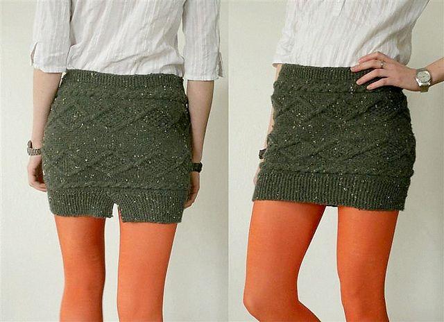 Maya's Diamonds Skirt pattern