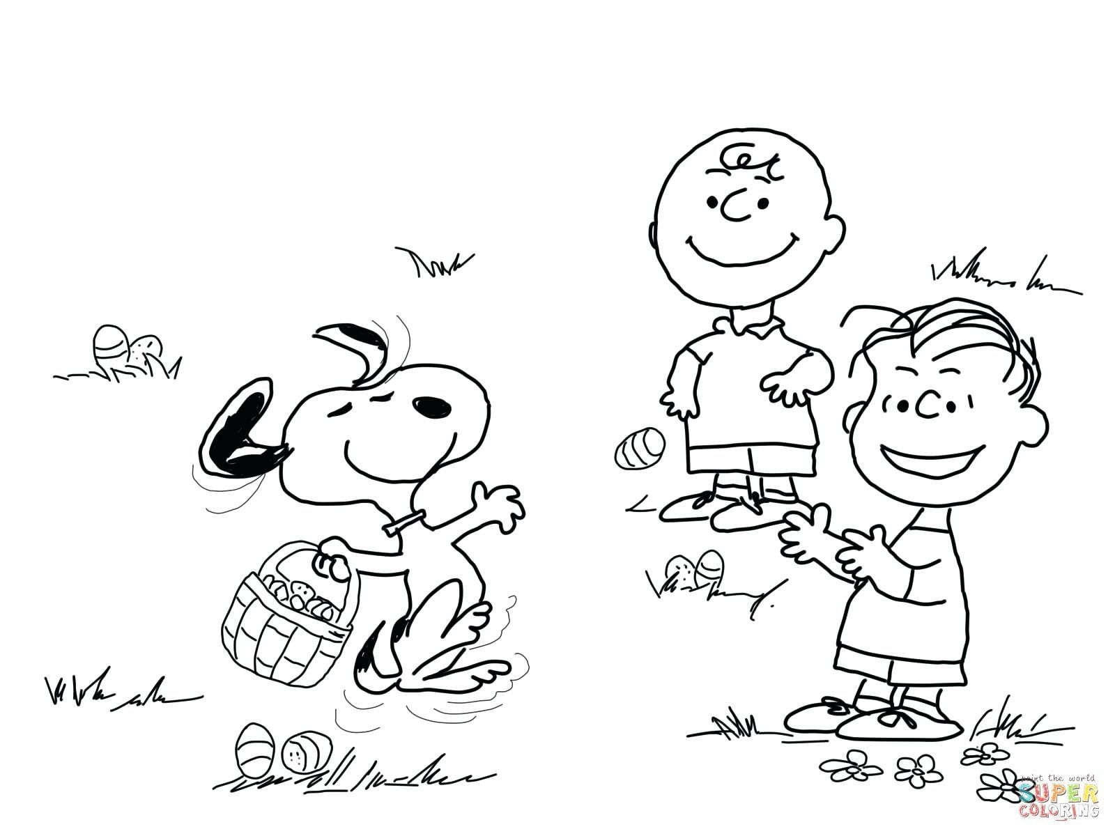 29 Unique Charlie Brown Coloring Pages in 2020 (With