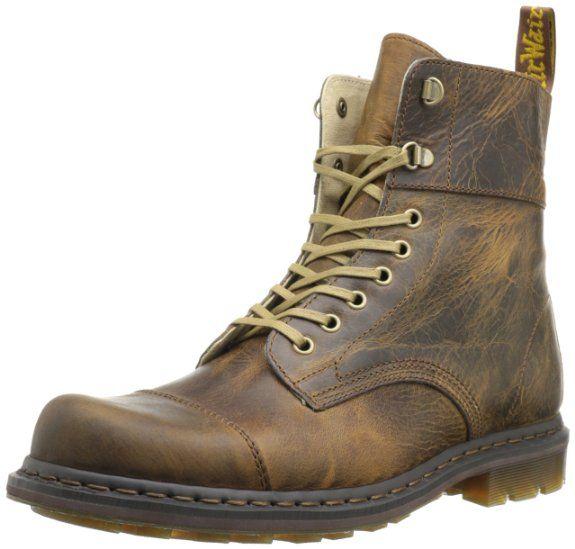 Zapatos negros estilo militar Dr. Martens Smooth para hombre ldebVQ