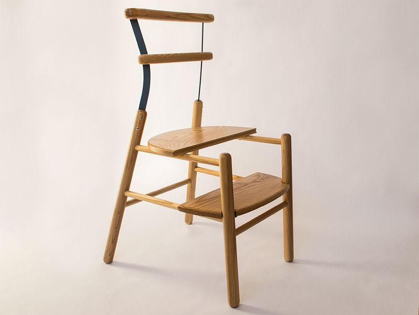 Studioventotto Combines Suppergiu Step Chair With Ladder Avec Images Mobilier De Salon Chaise
