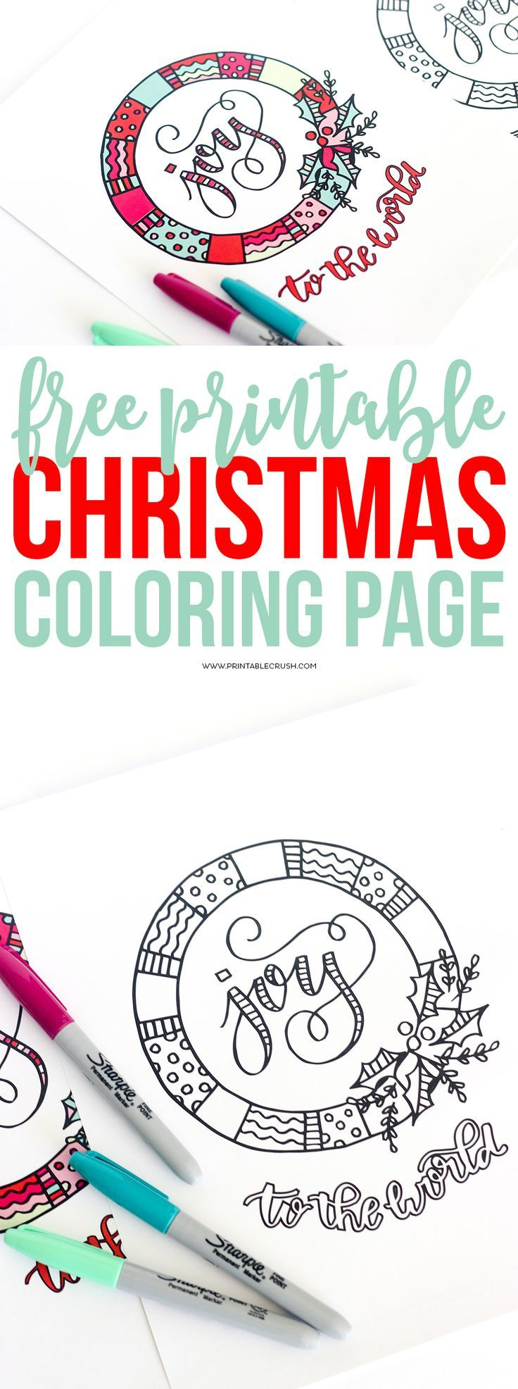 Christmas coloring activities printable - Print Off Some Of These Free Printable Christmas Coloring Page For A Fun Activity For Kids