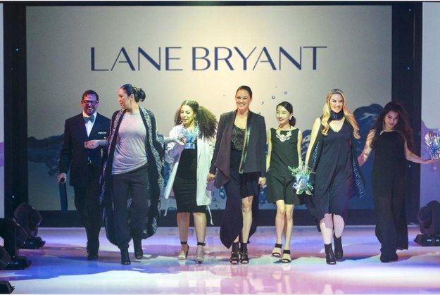 The Lane Bryant x Otis College of Art and Design collection will be available online, as well as in Lane Bryant's 34th Street store in NYC and their LA-area location at Amo Fashion Center, starting February 2. | This New Plus-Size Clothing Collaboration Is A Modern Minimalist's Dream