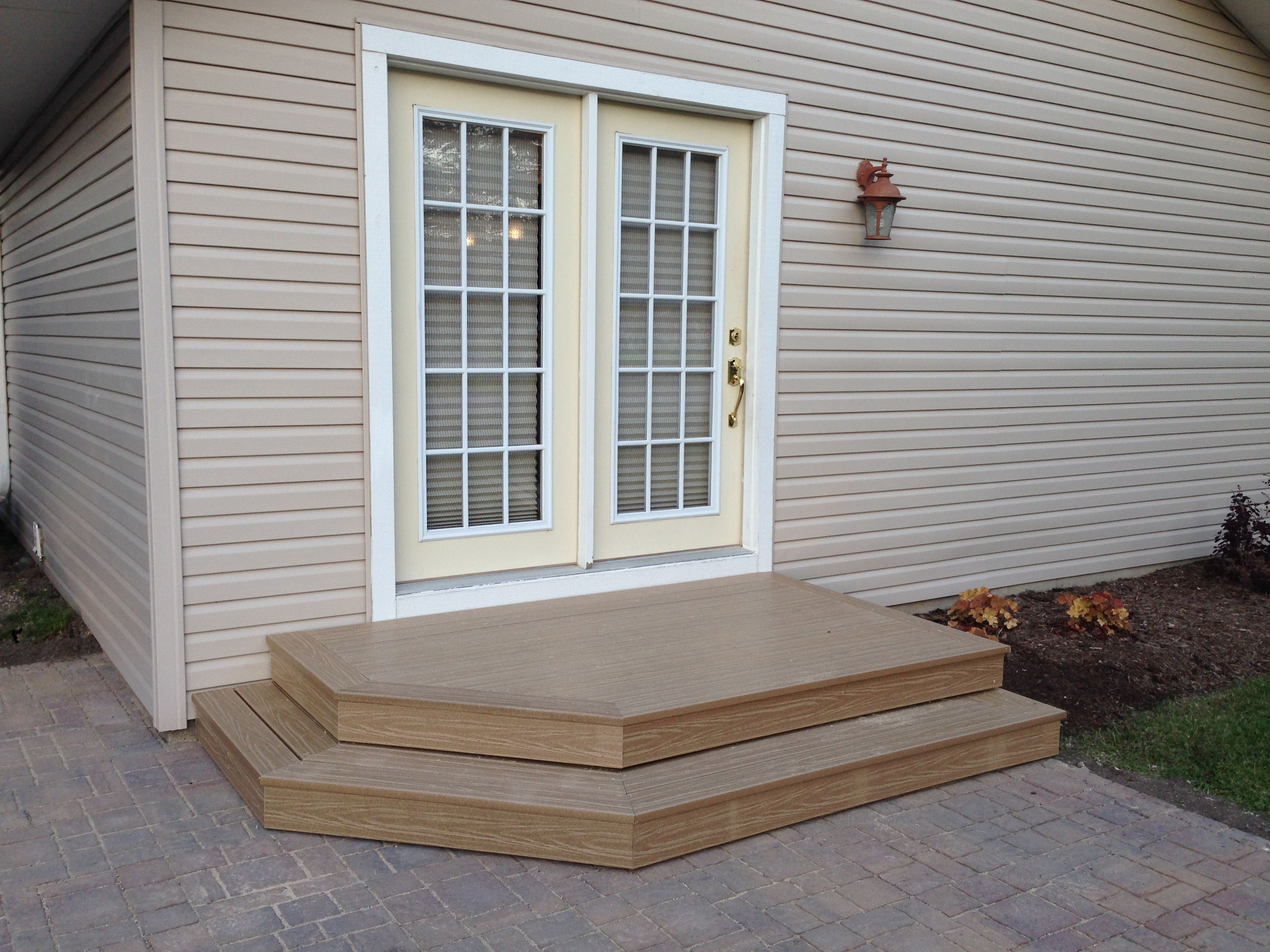 Best New Patio Pavers With 2 Step Deck Patio Stairs Patio 640 x 480