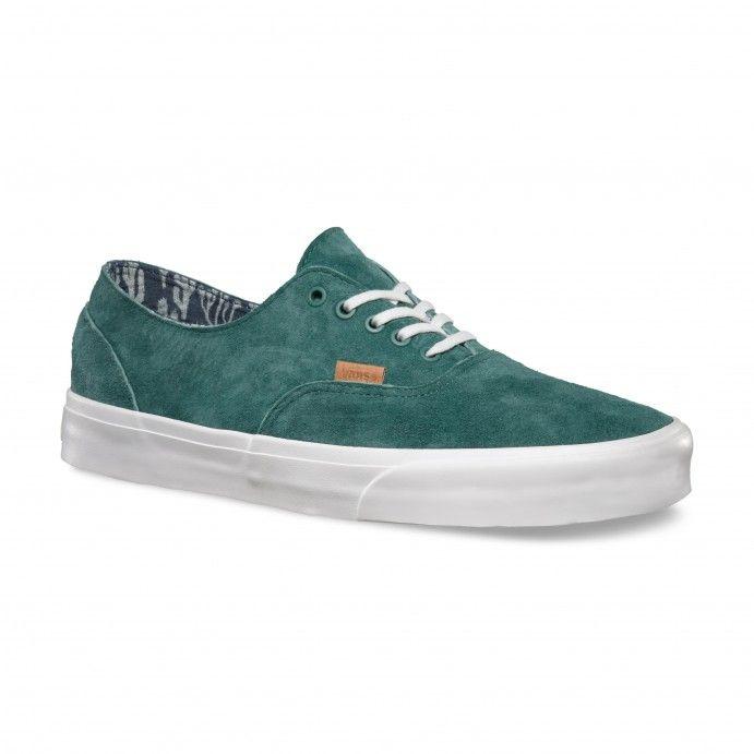 ef1010d17b4e83 Vans Era Decon CA Shoes (Pig Suede Cactus) Silver Pine