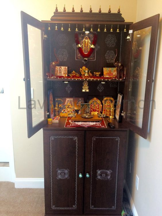 Ikea Shelf Home Mandir Pooja Room Door Design Pooja
