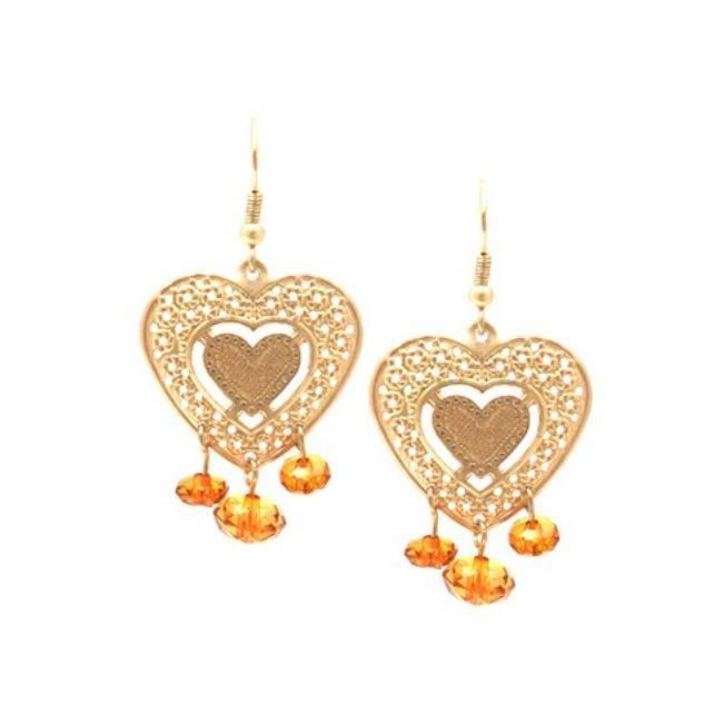 Heart Drop Earrings http://www.yeswalker.com/heart-drop-earrings/info.html/pid.1033176610