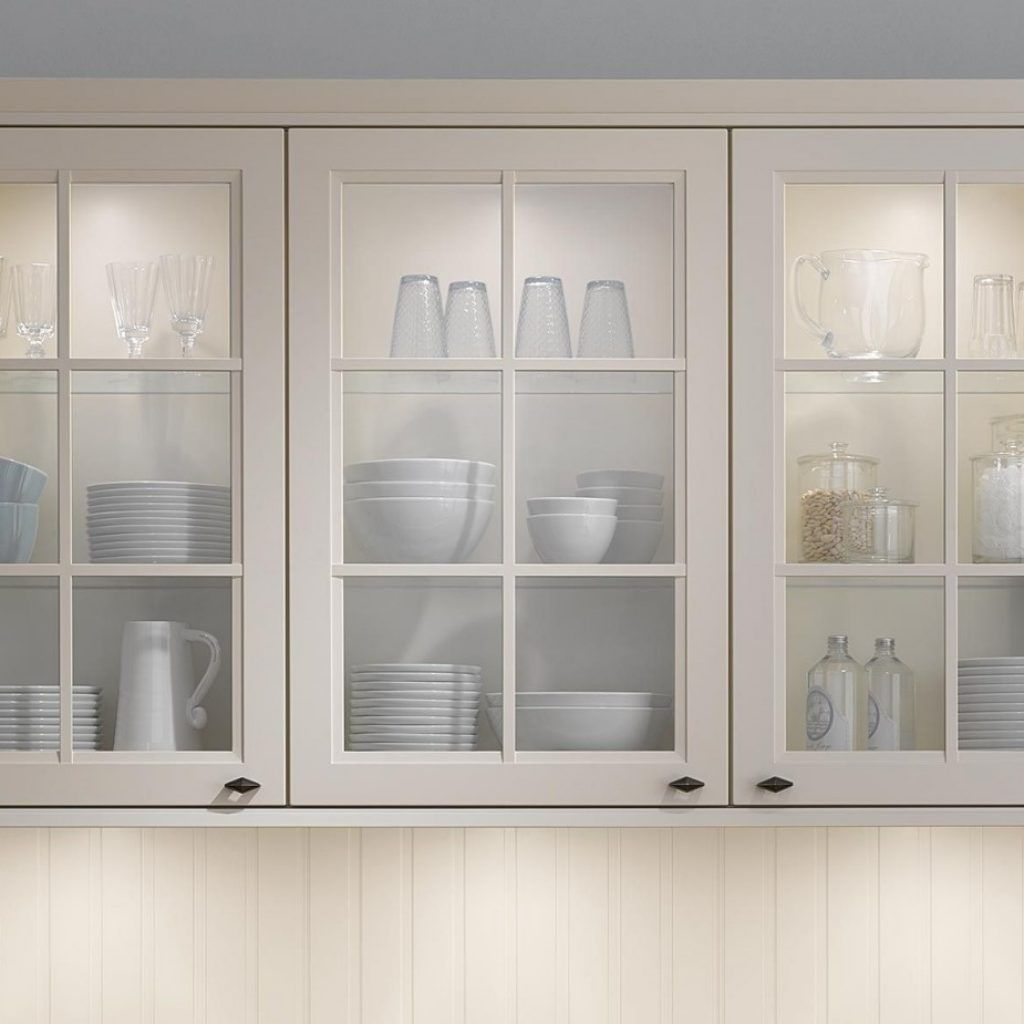 Glass Front Cabinets For Kitchen Kitchen Cabinets Pinterest