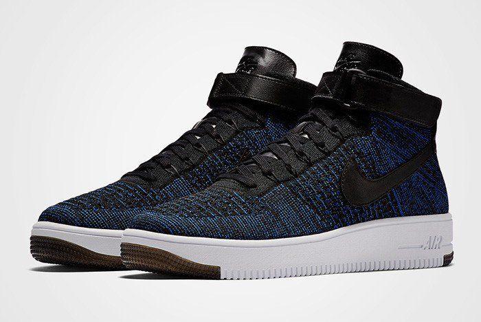 987b2943d6d3 Nike Air Force 1 Ultra Flyknit (Royal Blue) - Sneaker Freaker